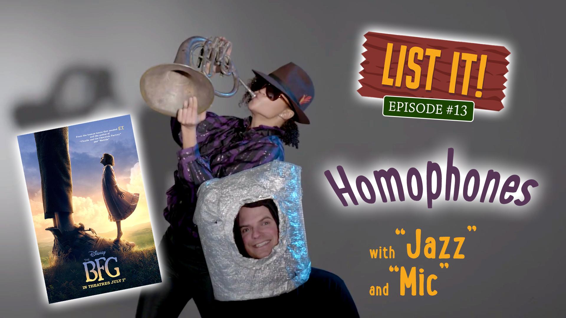 """""""Homophones"""""""