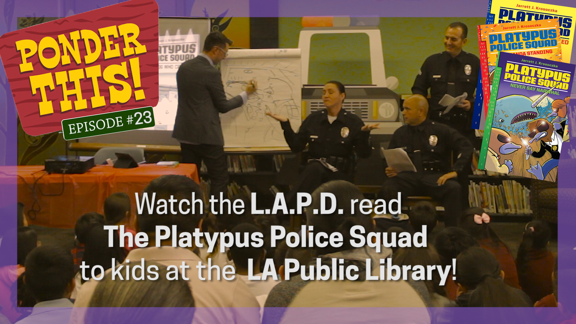 """""""LAPD Officers Read Aloud to Kids"""""""